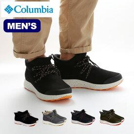 コロンビア トランスウェイウォータープルーフ Columbia Transway Waterproof メンズ YU0283 スニーカー 靴 スノーブーツ ハイカット 防水 <2019 秋冬>
