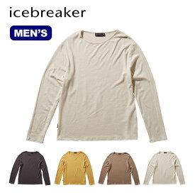 アイスブレーカー メンズ ネイチャーダイドLSボートネック Icebreaker Men's NATURE DYED LS BOAT-NECK IT61976 ロングスリーブ 長袖<2019 秋冬>