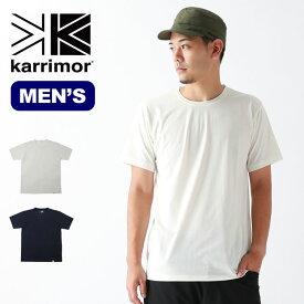 【キャッシュレス 5%還元対象】カリマー トラベラーS/Sティー karrimor traveler S/S T メンズ Tシャツ ポケットT <2019 秋冬>