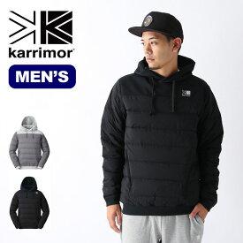 【キャッシュレス 5%還元対象】カリマー インディーダウンフーディー karrimor indie down hoodie メンズ ジャケット アウター <2019 秋冬>