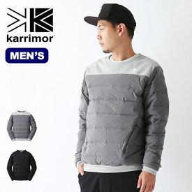 【キャッシュレス 5%還元対象】カリマー インディーダウンプルオーバー karrimor indie down pullover メンズ トップス ダウン プルオーバー <2019 秋冬>