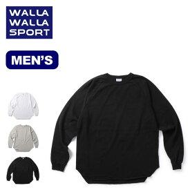 ワラワラスポーツ L/SルーズベースボールTEE WALLA WALLA SPORT L/S LOOSE BASEBALL TEE メンズ 30116-SR トップス Tシャツ ロングスリーブ 長袖アウトドア 【正規品】