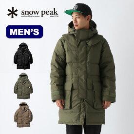 スノーピーク FR ダウンコート snow peak FR Down Coat M Olive メンズ JK-19AU002 ウェア コート アウター ダウン 難燃性 焚き火 <2019 秋冬>