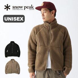 スノーピーク クラシックフリースジャケット snow peak Classic Fleece Jacket メンズ レディース SW-19AU004 ウェア フリース ジャケット トップス <2019 秋冬>