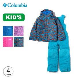 コロンビア バガセット Columbia Buga Set キッズ SY1091/SC1091 子ども ジャケット カバーオール 防寒着 アウター 上下セット <2019 秋冬>