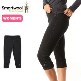 Smartwool Women's Merino 250 Base Layer 3/4 Bottom スマートウール ウィメンズ メリノ250ベースレイヤー3/4ボトム アンダーウェア レギンス インナーウェア メリノウール <2019 秋冬>