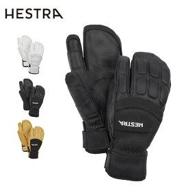 ヘストラ バーティカルカットシーゾーン3フィンガー HESTRA Vertical Cut Czone 3-Finger 30192 メンズ 手袋 レザーグローブ アウトドア <2019 秋冬>