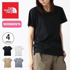 ノースフェイス S/S ポケットTee【ウィメンズ】 THE NORTH FACE S/S Pocket Tee レディース NTW31935 トップス Tシャツ ショートスリーブ 半袖 <2020 春夏>