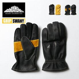マウンテンスミス GR1グローブ Mountainsmith MS0-000-190000 手袋 レザー グローブ コラボ グリップスワニー アウトドア <2020 春夏>