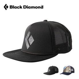 ブラックダイヤモンド フラットビルトラッカーハット Black Diamond BD68205 キャップ 帽子 野球帽 カジュアルキャップ アウトドア 【正規品】