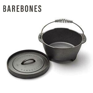 ベアボーンズリビング ダッチ 12インチ Barebones Living Dutch 12inch 鉄製 フライパン ダッチオーブン キャンプ 料理 アウトドア【正規品】
