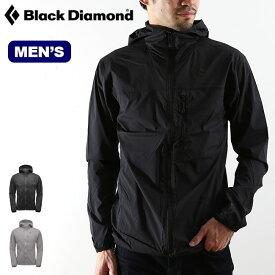 ブラックダイヤモンド メンズ アルパインスタートフーディー Black Diamond ALPINE START HOODY メンズ BD65871 フーディ ジャケット シェルジャケット アウターシェル キャンプ アウトドア【正規品】