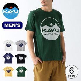 カブー サークルロゴTee KAVU Circle Logo Tee メンズ 19821020 Tシャツ トップス 半袖 アウトドア <2020 春夏>