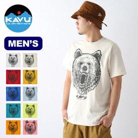 カブー グリズリーTee KAVU Grizzly Tee メンズ 19821232 Tシャツ トップス 半袖 アウトドア <2020 春夏>
