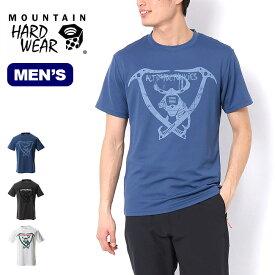 マウンテンハードウェア ハードウェアグラフィックT AJ 7 Mountain Hardwear Hardwear Graphic T AJ 7 メンズ OE9154 Tシャツ 半袖 プリントT トップス アウトドア 【正規品】