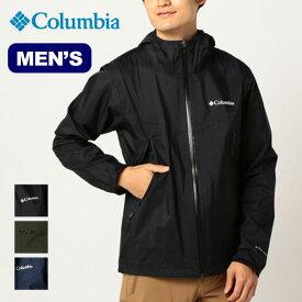 コロンビア ライトクレストジャケット Columbia Light Crest Jacket メンズ PM5738 アウター ジャケット ハードシェル パッカブル アウトドア <2020 春夏>
