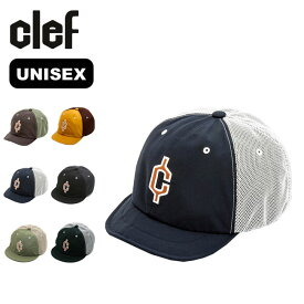 クレ 6040メッシュワイヤードB.キャップ Clef 6040MESH WIRED B.CAP 帽子 キャップ メンズ レディース ユニセックス RB3569 アウトドア 【正規品】