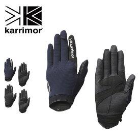 カリマー トレックライトグローブ karrimor trek light glove グローブ 手袋 トレッキンググローブ タッチパネル アウトドア <2020 春夏>