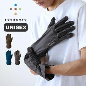 アクシーズクイン ライトシェルウォータープルーフグローブ AXESQUIN Light Shell WP Glove ユニセックス RG3573 グローブ 手袋 アウトドア 【正規品】