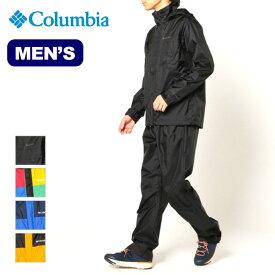 コロンビア シンプソンサンクチュアリ2レインスーツ Columbia Simpson Sanctuary II Rainsuit メンズ PM0126 レインウェア 雨具 レインジャケット レインパンツ 上下セット アウトドア <2020 春夏>