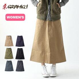 グラミチ ベイカースカート【ウィメンズ】 GRAMICCI BAKER SKIRT ウィメンズ レディース 9301-FDJ スカート ロングスカート ロング アウトドア <2020 春夏>