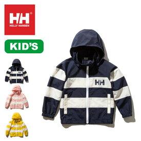 ヘリーハンセン キッズ ボーダーベルゲンジャケットHELLY HANSEN Border Bergen Jacket キッズ HJ12001 キッズウエア トップス ジャケット アウター アウトドア <2020 春夏>