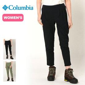 コロンビア バレーウェイ ウィメンズライトウェイトパンツ Columbia Valleyway Women'S Lightweight Pant レディース PL8386 ボトムス ロングパンツ トレッキングパンツ 長ズボン ハイキング アウトドア <2020 春夏>