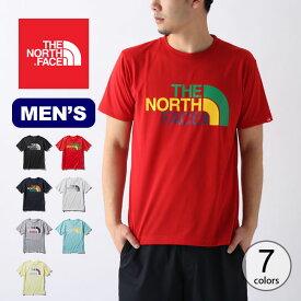 ノースフェイス S/S カラフルロゴTee メンズ THE NORTH FACE S/S Colorful Logo Tee NT32037 トップス Tシャツ ショートスリーブ 半袖 アウトドア <2020 春夏>