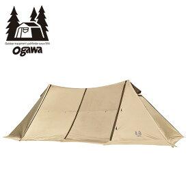 オガワ ツインピルツフォークL OGAWA Twin PilzFork L 3346 ツーポールテント シェルター キャンプ アウトドア 【正規品】