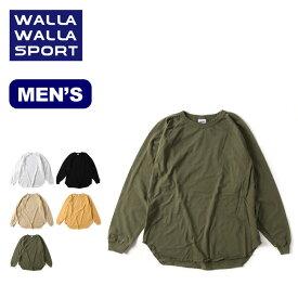 ワラワラスポーツ L/SルーズベースボールTEE WALLA WALLA SPORT L/S LOOSE BASEBALL TEE メンズ 30111-SR トップス Tシャツ ロングスリーブ 長袖 アウトドア 【正規品】