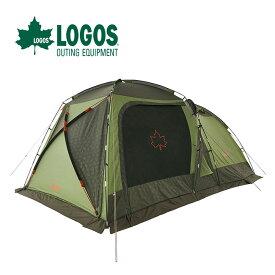ロゴス neos PANELスクリーンドゥーブル XL-BJ LOGOS 71805551 テント ファミリーキャンプ グループキャンプ 虫対策 2ルーム アウトドア <2020 春夏>