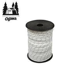 オガワ 張綱5mm 反射材入り 30m(ボビン巻) OGAWA 3132 ボビン 紐 ガイライン 備品 アウトドア 【正規品】