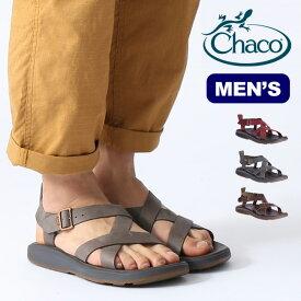 チャコ ウェイヘラー Chaco WAYFARER メンズ サンダル スポーツサンダル レザー 靴 アウトドア 【正規品】