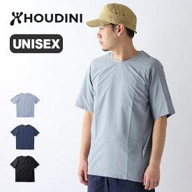 フーディニ ウェザーTee HOUDINI Weather Tee ユニセックス 159784 Tシャツ トップス 半袖 ウィンドシェル パッカブル アウター <2020 春夏>