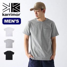 カリマー ポケットワイドT karrimor pocket wide T メンズ Tシャツ 半袖 【正規品】
