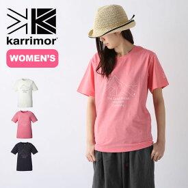 カリマー マウンテンPF【ウィメンズ】T karrimor mountain PF W's T レディース Tシャツ 半袖 アウトドア 【正規品】