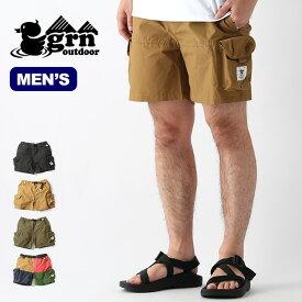 ジーアールエヌアウトドア テブラショーツ grn outdoor TEBURA SHORTS メンズ GO0329Q ショートパンツ 短パン ショーパン ズボン ボトムス 【正規品】