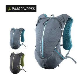 パーゴワークス ラッシュ 12 PaaGo WORKS RUSH 12 RP003 リュックサック 12L トレランアウトドア 【正規品】