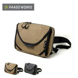 パーゴワークス パスファインダー PaaGo WORKS PATHFINDER HB003 ショルダーバッグ チェストバッグ キャンプ アウトドア フェス【正規品】