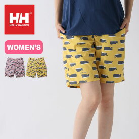 ヘリーハンセン ホエールプリントウォーターショーツ【ウィメンズ】 HELLY HANSEN Whale Print Water Shorts レディース HE72023 水着 ショートパンツ 半ズボン <2020 春夏>