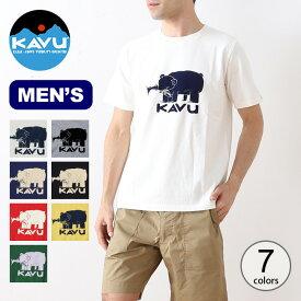 カブー ハイベアーTee KAVU Hai Bear Tee メンズ 19820421 Tシャツ トップス 半袖 【正規品】