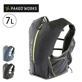パーゴワークス ラッシュ 5R PaaGo WORKS RUSH 5R RP002 レーシングベスト トレラン ランニング バッグ 7L 【正規品】