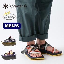 スノーピーク SP Z クラウドX メンズ SP Z Cloud X Mens snow peak メンズ CH-20SU001 サンダル チャコ コラボ 【正規品】