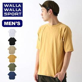 ワラワラスポーツ 1/2ルーズベースボールTEE WALLA WALLA SPORT 1/2 LOOSE BASEBALL TEE メンズ 30125-SR トップス Tシャツ 半袖 【正規品】