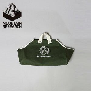 マウンテンリサーチ ログトート Mountain Research Log Tote 3030 トートバック バック カバン 帆布 鞄 焚き火 薪バック ログキャリー キャンプ アウトドア 【正規品】
