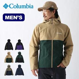 コロンビア ヴィザボナパスジャケット Columbia VIZZANOVA PASS™ JACKET メンズ PM3844 アウター ジャケット トップス ウィンドシェル ソフトシェル マウンテンパーカー アウトドア 【正規品】
