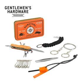 ジェントルマンハードウェア サバイバルキット Gentlemen's Hardware Survival Kit GEN368 キャンプ アウトドア フェス【正規品】