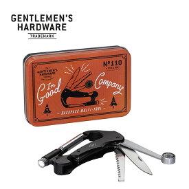 ジェントルマンハードウェア バックパックマルチツール Gentlemen's Hardware Backpack Multi Tool GEN110 キャンプ アウトドア フェス【正規品】