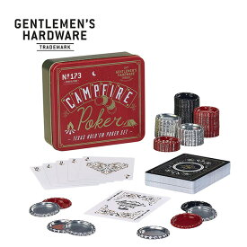 【SALE 30%OFF】ジェントルマンハードウェア キャンプファイヤーポーカー Gentlemen's Hardware Campfire Poker GEN173 ポーカーセット トランプ カードゲーム キャンプ 遊び道具 アウトドア 【正規品】