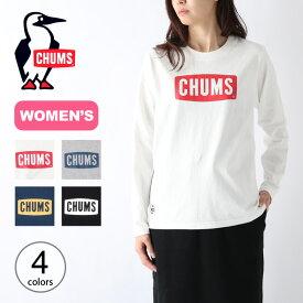 チャムス ボートロゴ L/S Tシャツ【ウィメンズ】 CHUMS Boat Logo L/S T-Shirt レディース CH11-1284Tシャツ ロンT トップス カットソー 長袖Tシャツ <2020 秋冬>